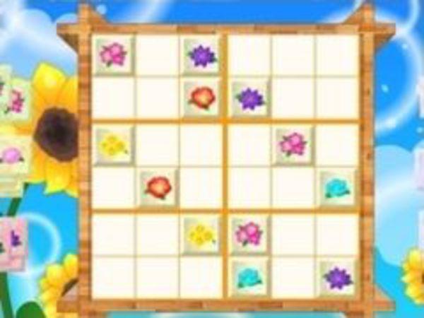Bild zu Denken-Spiel Flower Sudoku