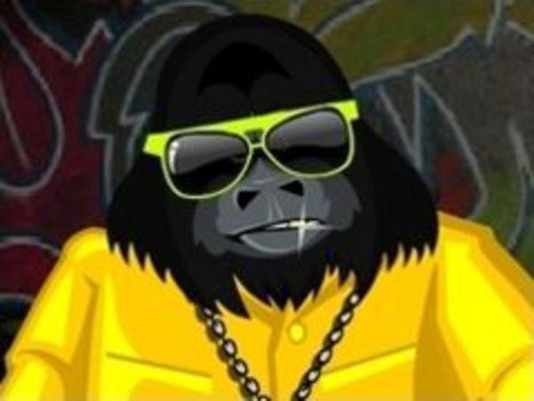 Bild zu Mädchen-Spiel Pimp my Chimp