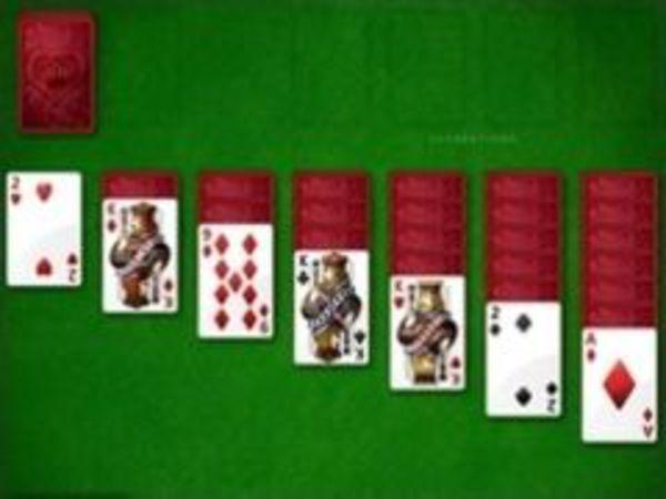 Bild zu Denken-Spiel Solitaire 5