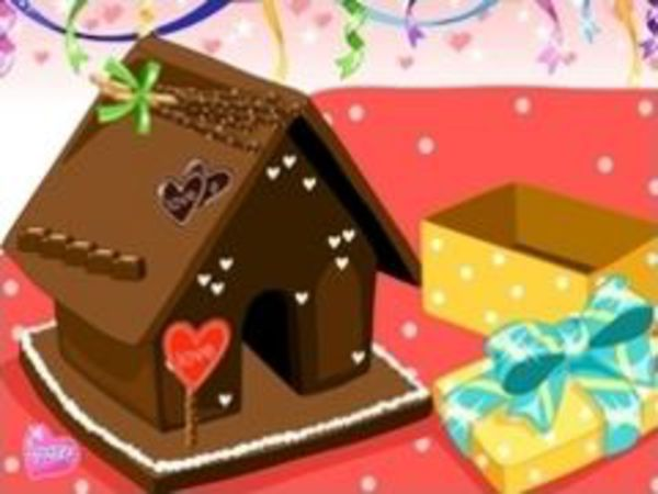 Bild zu Mädchen-Spiel Lebkuchenhaus 2