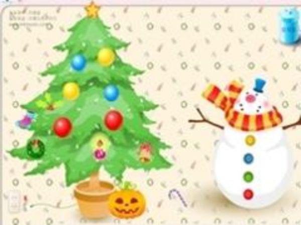 Bild zu Kinder-Spiel Christmas Tree Decoration