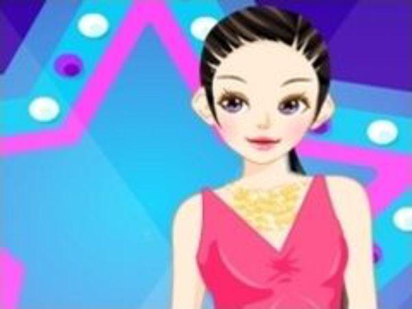 Bild zu Mädchen-Spiel Actress Dressup