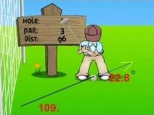 Bild zu Sport-Spiel Golf Man