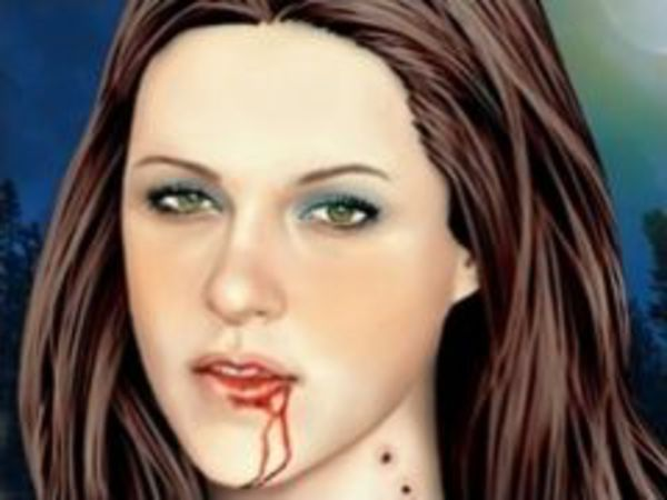 Bild zu Geschick-Spiel Vampire Makeover