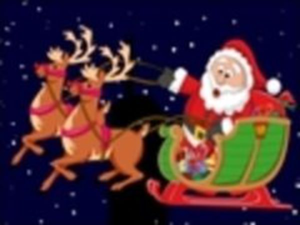 Bild zu Mädchen-Spiel Santas Reindeers 2
