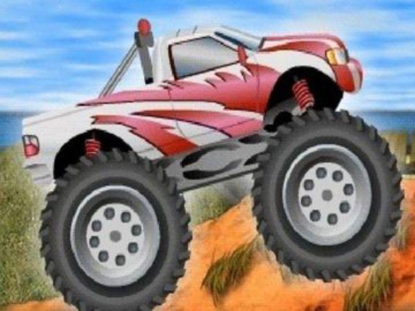 Bild zu Geschick-Spiel 4 Wheel Madness 2