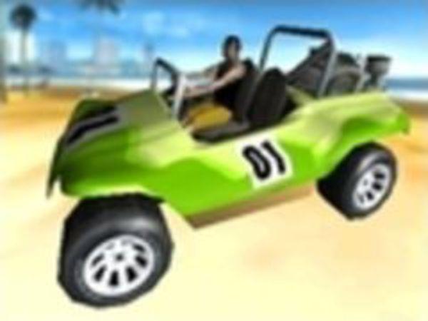 Bild zu Rennen-Spiel Beach Racer 3D