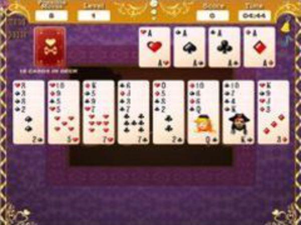 Bild zu Denken-Spiel Piraten Solitaire