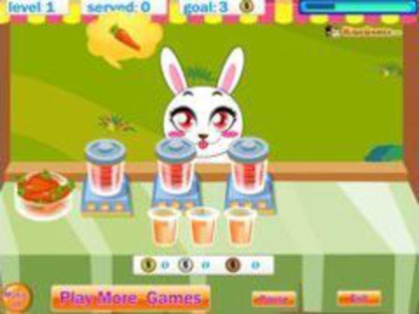 Bild zu Geschick-Spiel Hasen Imbiss
