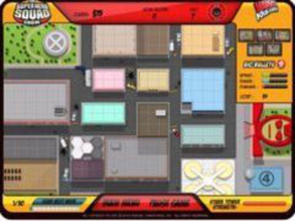 Bild zu Geschick-Spiel Superhelden Verteidigung