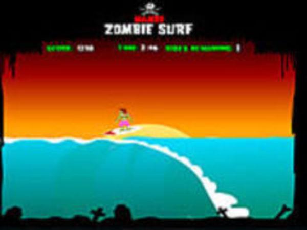 Bild zu Geschick-Spiel zombie Surf