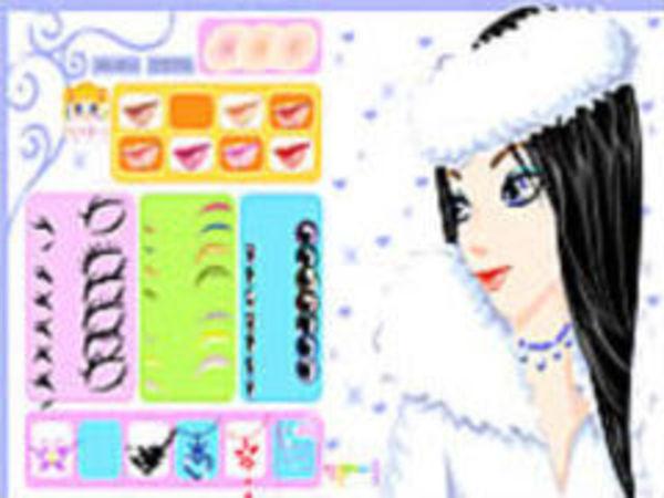 Bild zu Kinder-Spiel Winter Girl Makeup