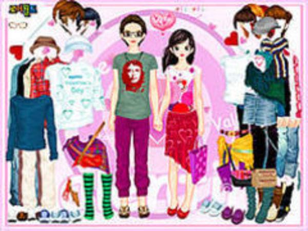Bild zu Mädchen-Spiel Aaron And Gabrielle