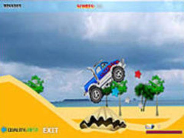 Bild zu Geschick-Spiel Super Truck Racer