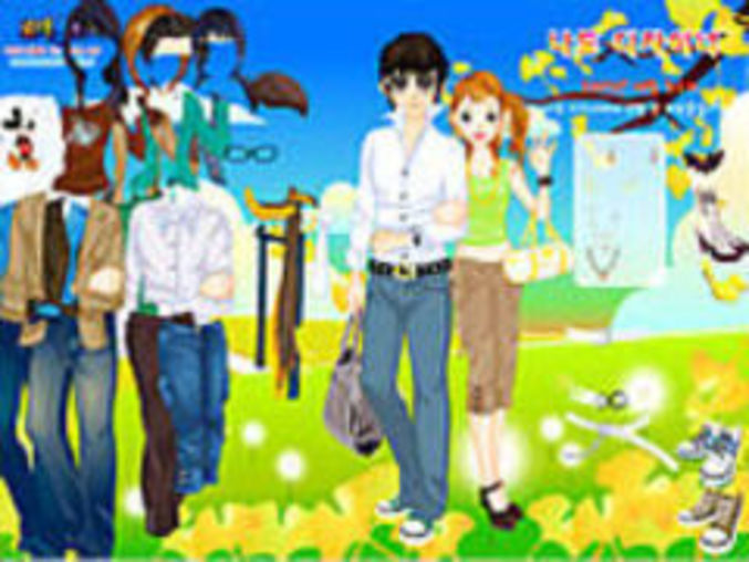 Spring Couple Dressup