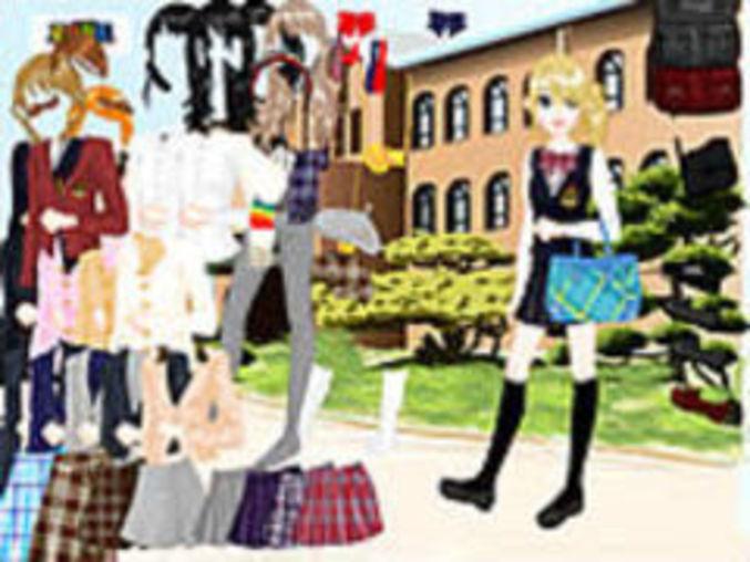 School Uniform Dressup