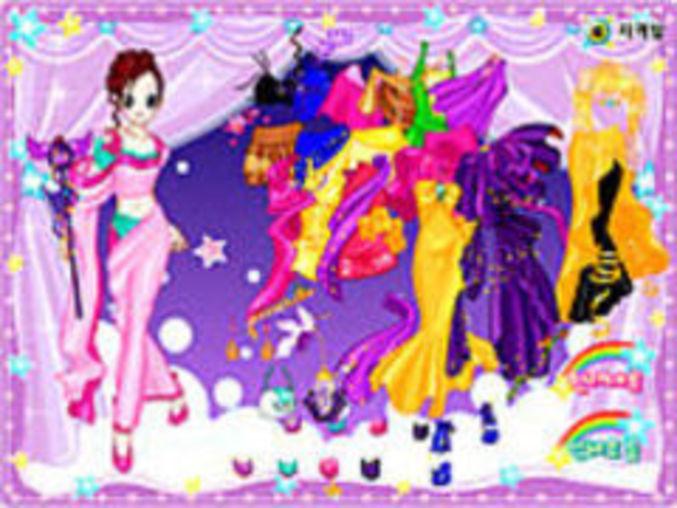 Dream Dancer Dressup