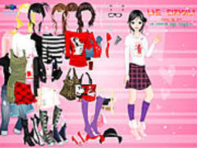 Cartoon Print Dressup2