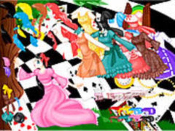 Alice In Wonderland Dressup