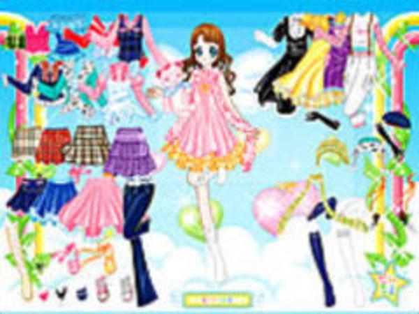 Bild zu Mädchen-Spiel Air Fairy Dressup
