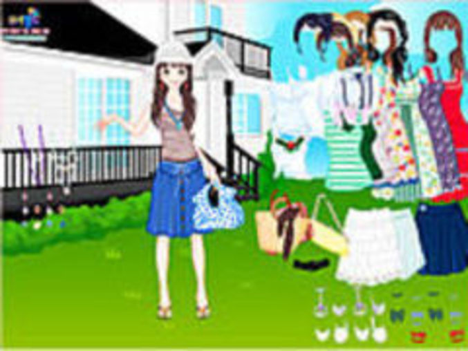 Summer Garden Dressup