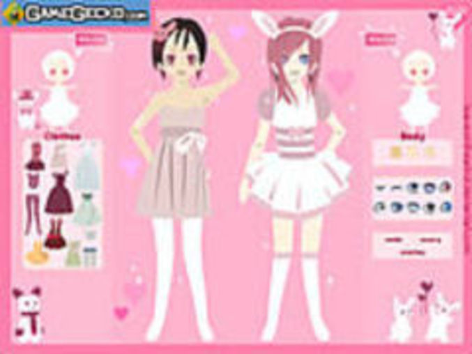 Love Bunnies Dressup