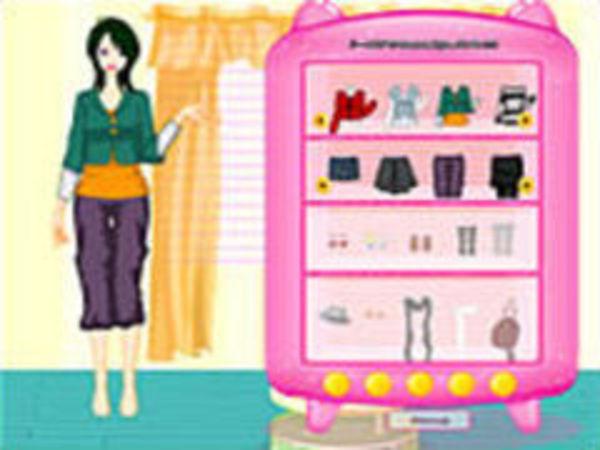 Bild zu Kinder-Spiel Girl Dressup Makeover36