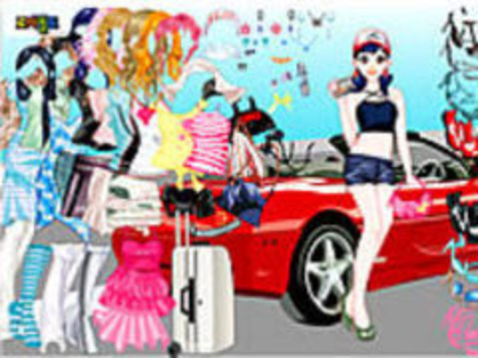 Ferrari Dress up Game