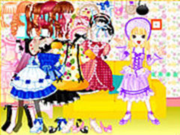 Bild zu Geschick-Spiel Dollprincess Dress Up