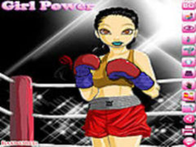 Boxing Girl Dressup