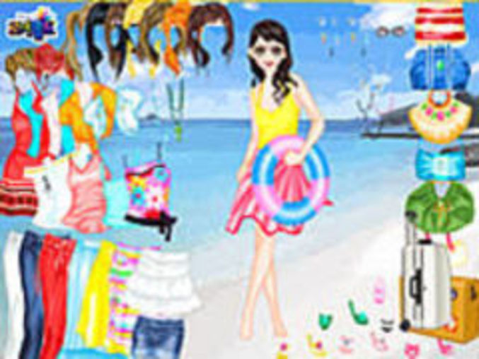 Beach Holiday Dressup