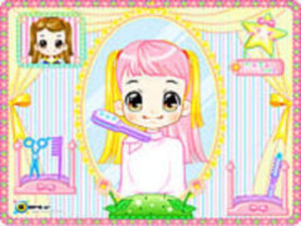 Bild zu Mädchen-Spiel Alice Hairdresser