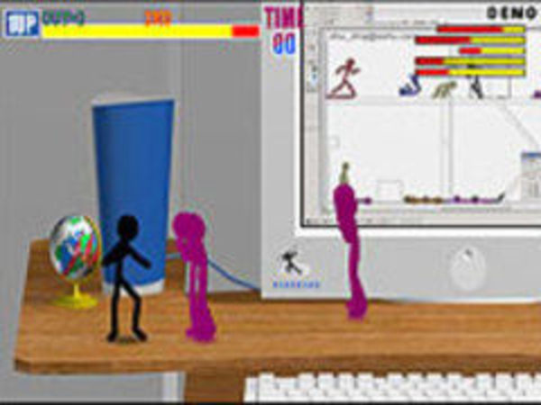 Bild zu Geschick-Spiel Fight Man
