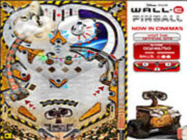 Bild zu Geschick-Spiel Wall E Pinball