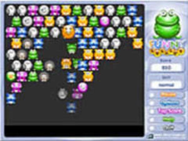 Bild zu Geschick-Spiel Funny Bubbles