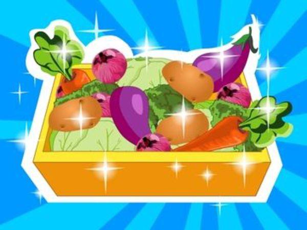 Bild zu Mädchen-Spiel Vegetable Garden