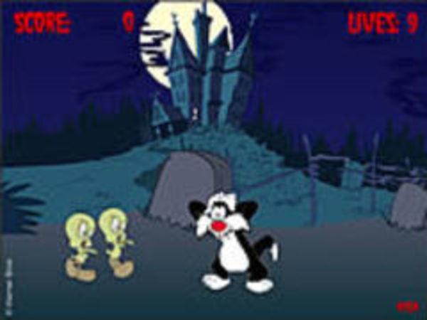 Bild zu Geschick-Spiel Tweety Zombies