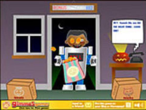 Bild zu Geschick-Spiel Trick Or Treat - Xtreme