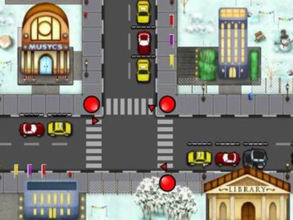 Bild zu Geschick-Spiel Traffic Trouble