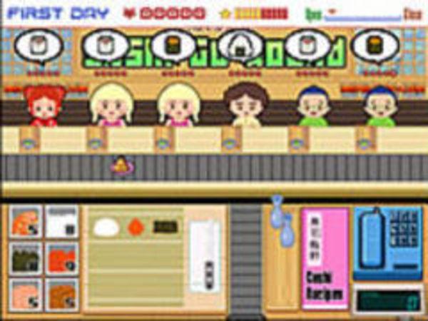 Bild zu Simulation-Spiel Sushi go round