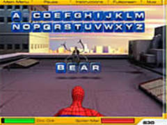 Spiderman - Words spielen