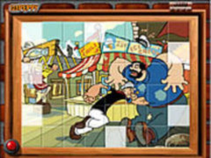 Sort The Tiles Popeye