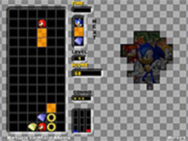 Bild zu Klassiker-Spiel Sonic Heroes Puzzle