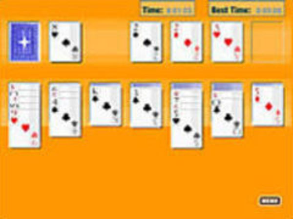 Bild zu Denken-Spiel Solitaire Oldschool