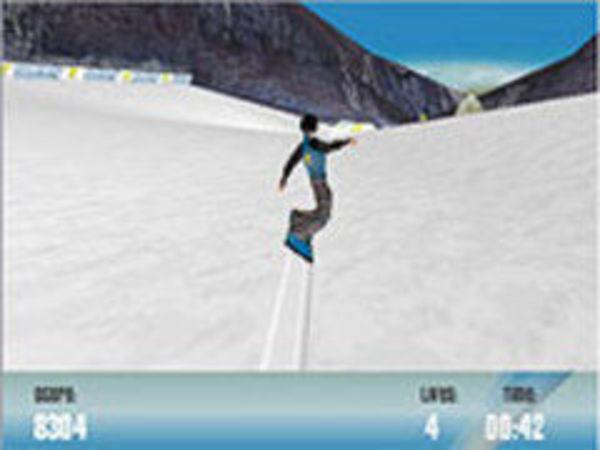 Bild zu Geschick-Spiel Snowboarder-xs
