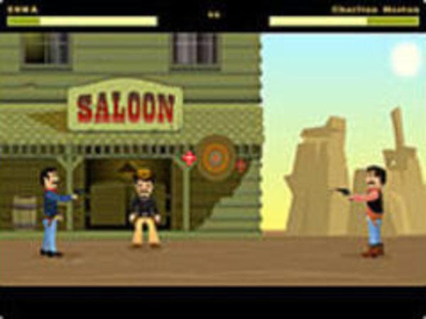 Bild zu Action-Spiel Smokin Barrels