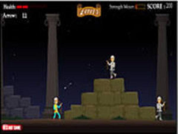 Bild zu Geschick-Spiel Silver Arrow Game