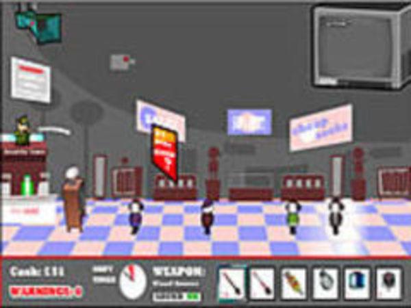 Bild zu Action-Spiel Shoplifter Defence