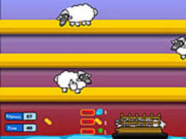Bild zu Geschick-Spiel Sheep Panic