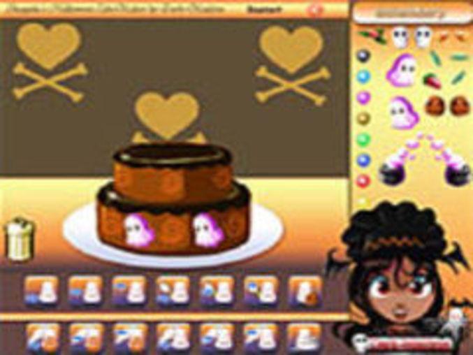 Shaquita´s Halloween Cake